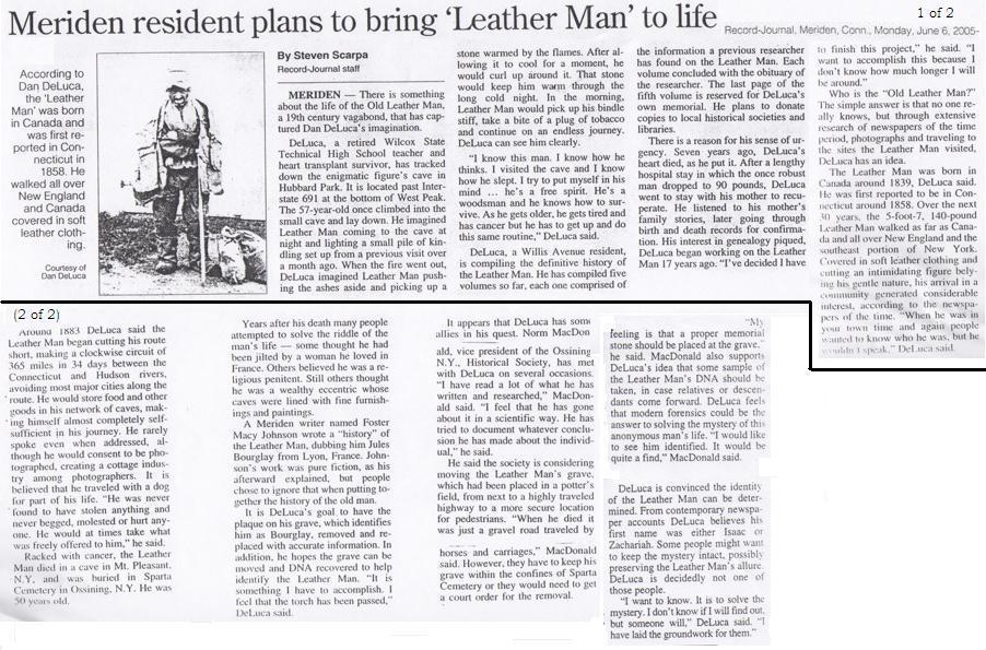 Dna write a newspaper article
